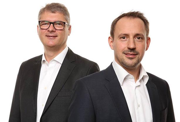 Geschäftsführer Roger Müller & Udo Pfattheicher